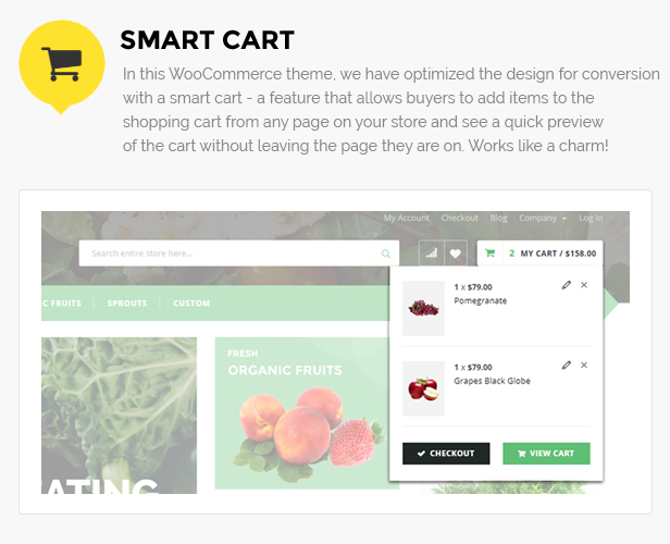 Fruits shop woocommerce