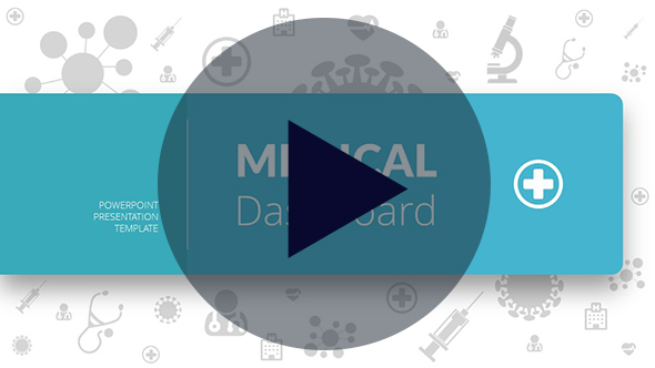 Medical Dashboard PowerPoint Presentation Template - 1