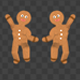 Gingerbread Dancers - Pack of 3 - 224