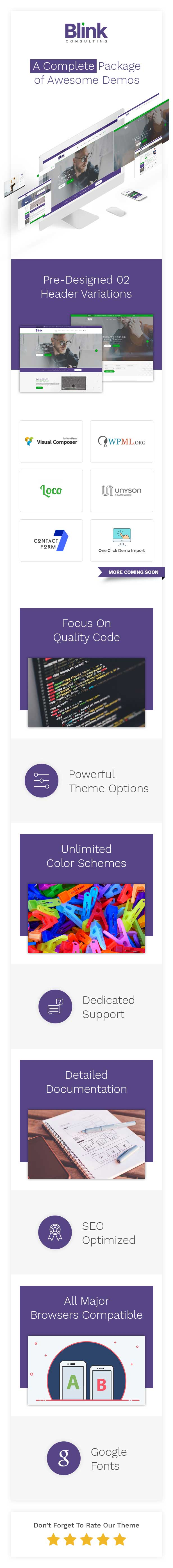 Creative Finance, Consulting and Business Agency WordPress Theme - 1