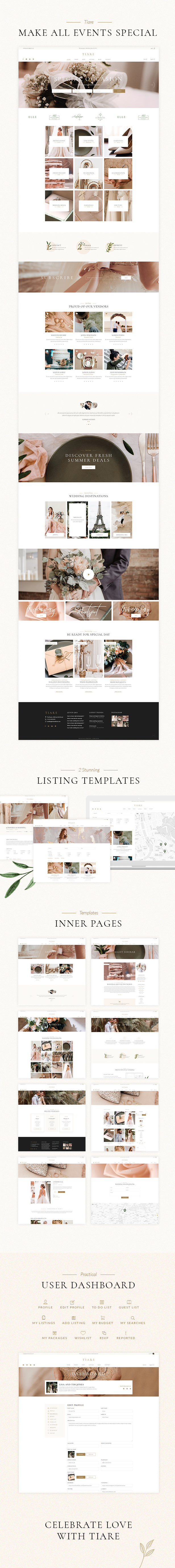 Tiare - Wedding Vendor Directory Theme - 2