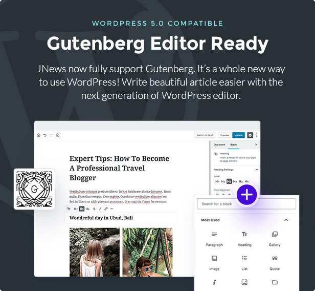 JNews - WordPress Newspaper Magazine Blog AMP Theme - 5