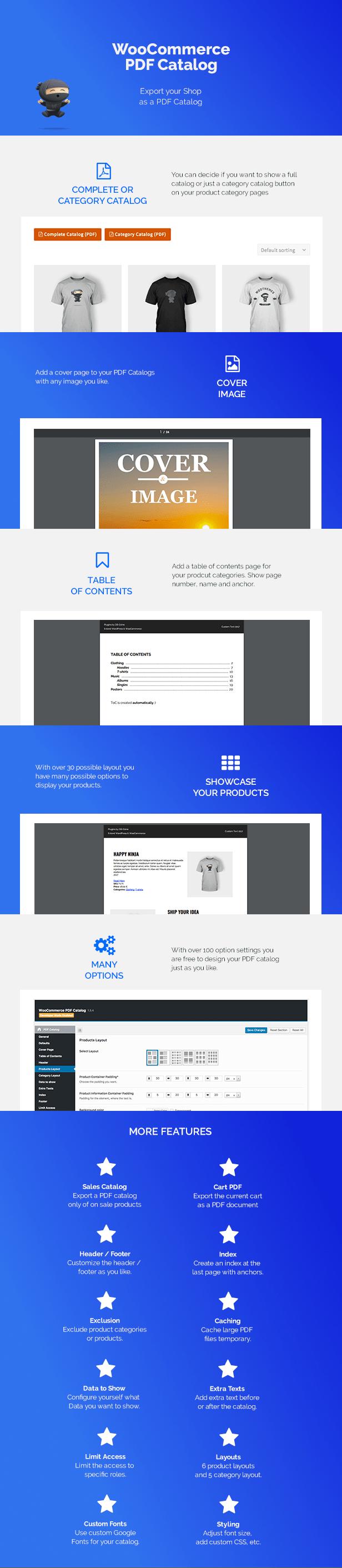 WooCommerce PDF Catalog v1.13.6-woo商店转PDF目录插件插图2