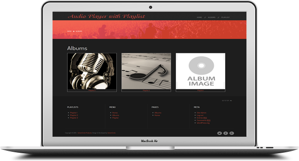 HTML5 Audio Player with Playlist for Wordpress - 13