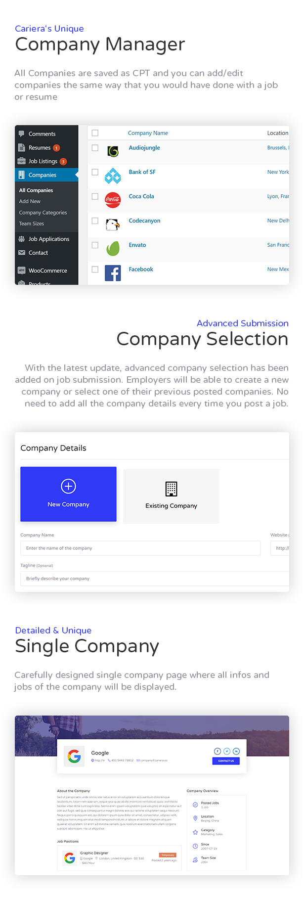 Cariera - Job Board WordPress Theme - 8