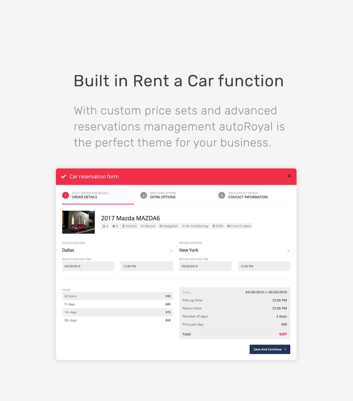 autoRoyal - Automotive WordPress Theme - 8