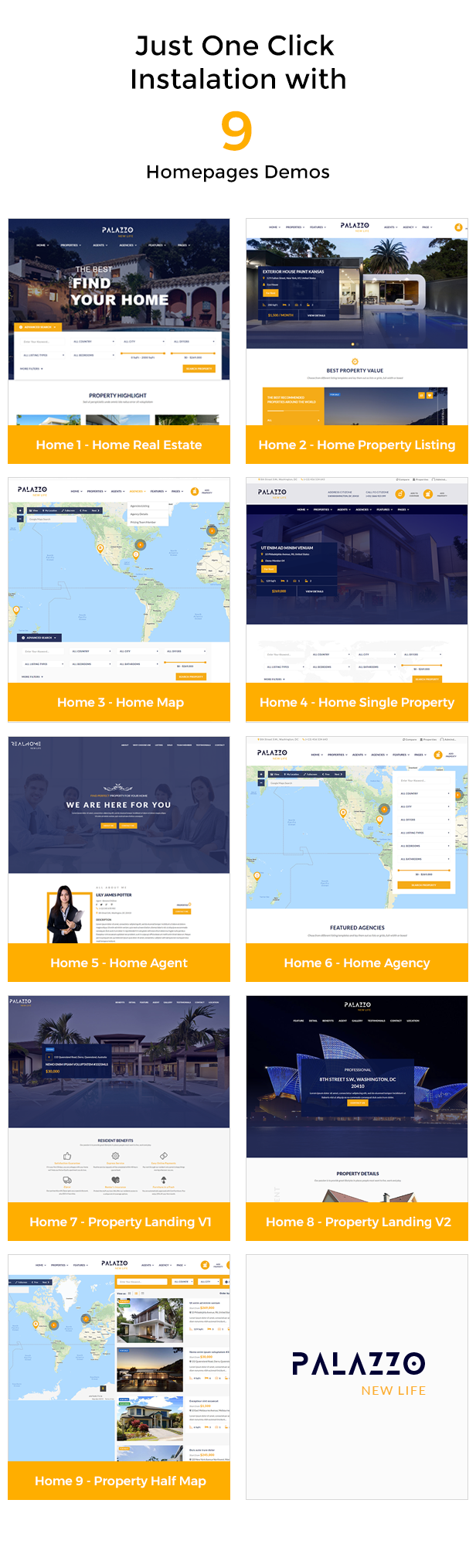 Palazzo - Real Estate WordPress Theme - 7