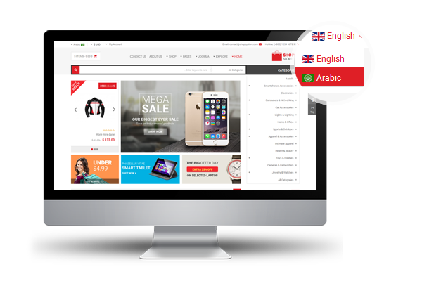 ShoppyStore - Responsive VirtueMart 3 Template