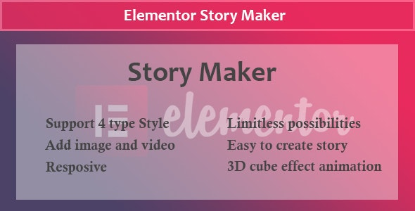 Elementor - Story Maker - CodeCanyon Item for Sale