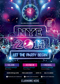 New Year Party Flyer - 28