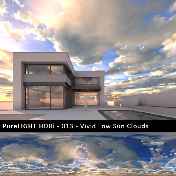 PureLIGHT HDRi 013 - Vivid Sun Clouds