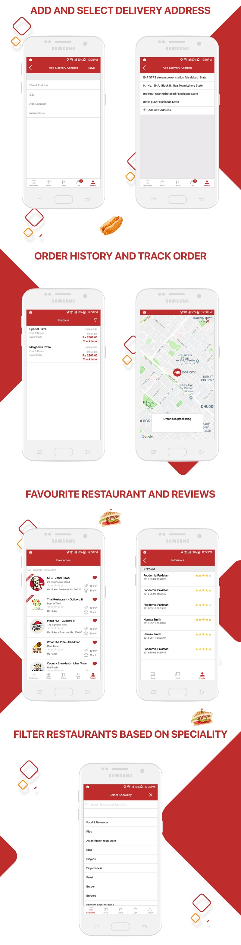 Native Restaurant Food Delivery & Ordering System With Delivery Boy - Android v2.0.6 - 13