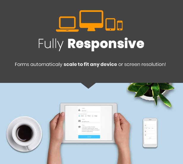 NEX-Forms 7 - The Ultimate WordPress Form Builder - Responsive Forms