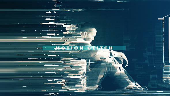 Fast Motion Glitch Slideshow - 3