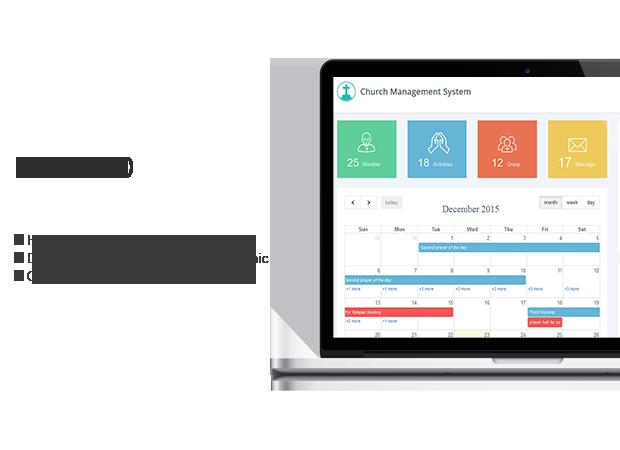 Wordpres church Management System