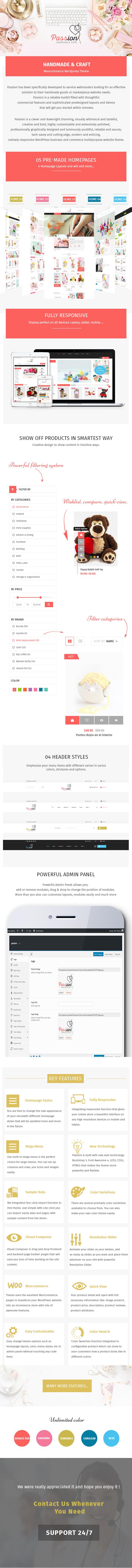 Passion - Handmade & Craft WooCommerce WordPress Theme - 4