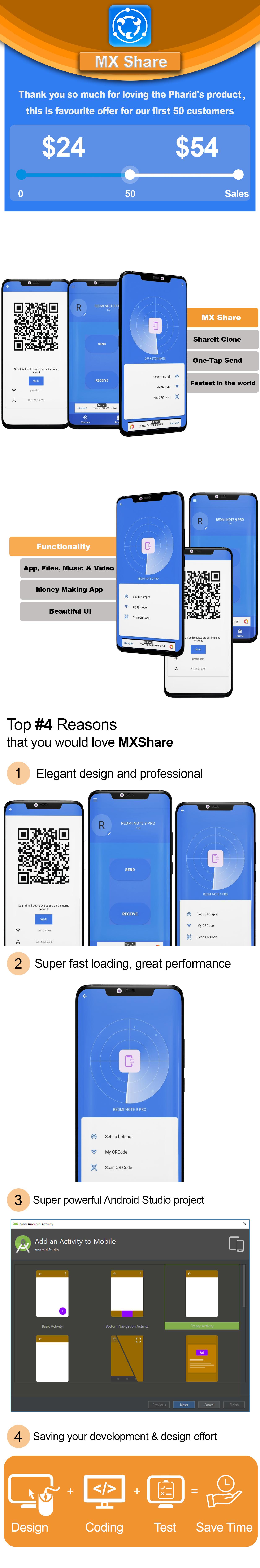 MXShare - MXShare Clone   Ultimate Transfer & Share - 1