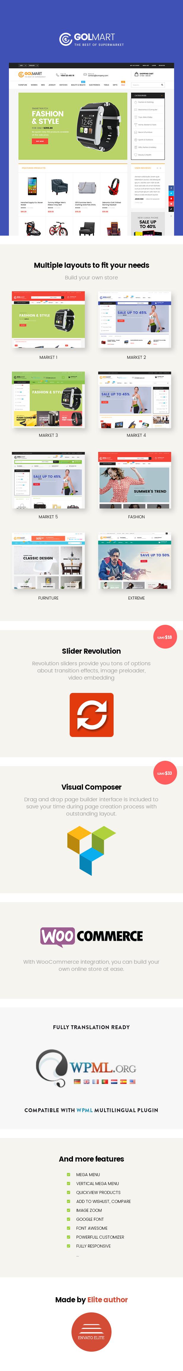 Golmart – Creative WooCommerce WordPress Theme - 5