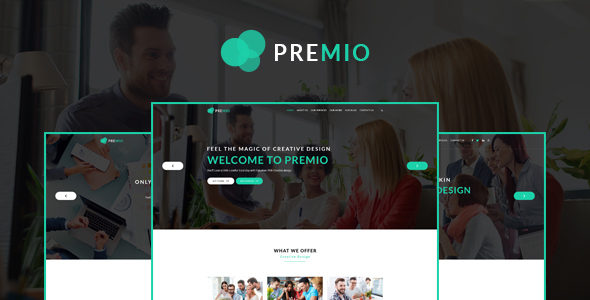 Premio - Creative Business WordPress Theme - Corporate WordPress