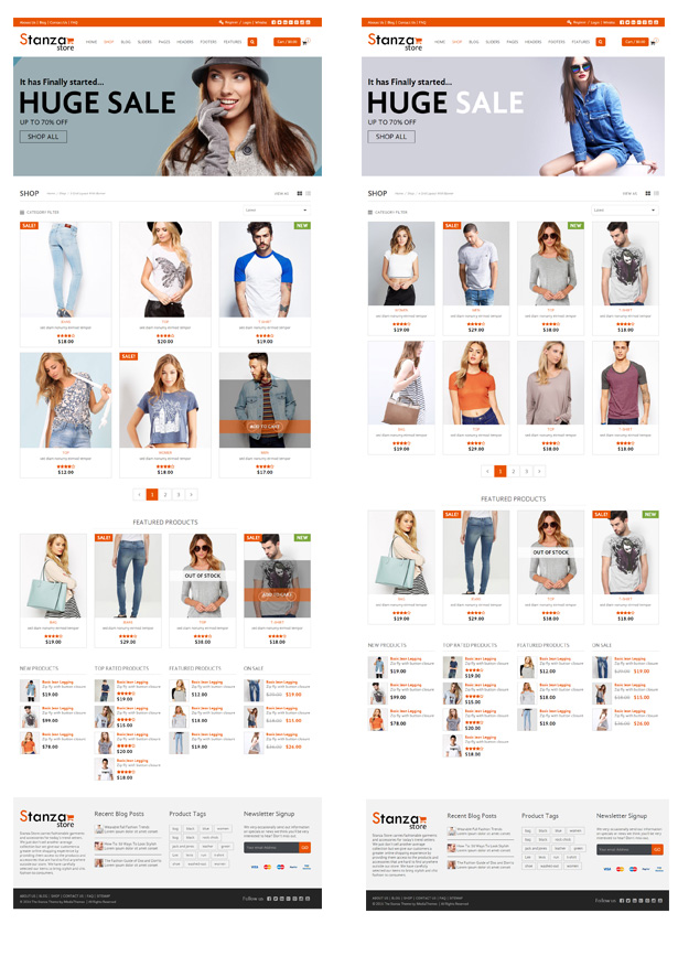 Stanza Store – Responsive eCommerce HTML 5 Template - 11