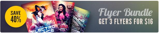 Party Flyer Bundle Vol17