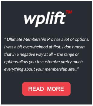 Ultimate Membership Pro - WordPress Membership Plugin - 89
