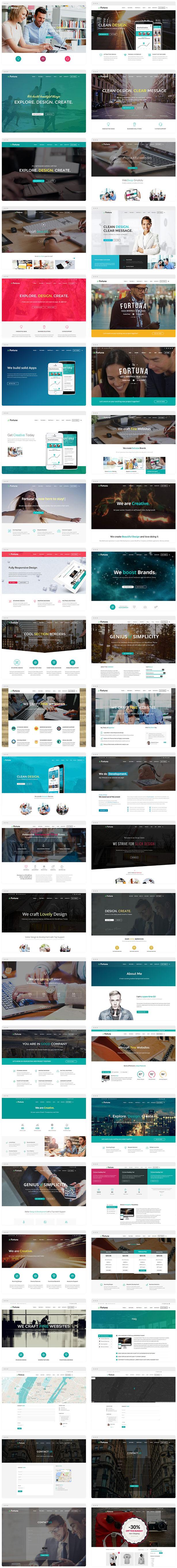 Fortuna - Responsive Multi-Purpose WordPress Theme - 14