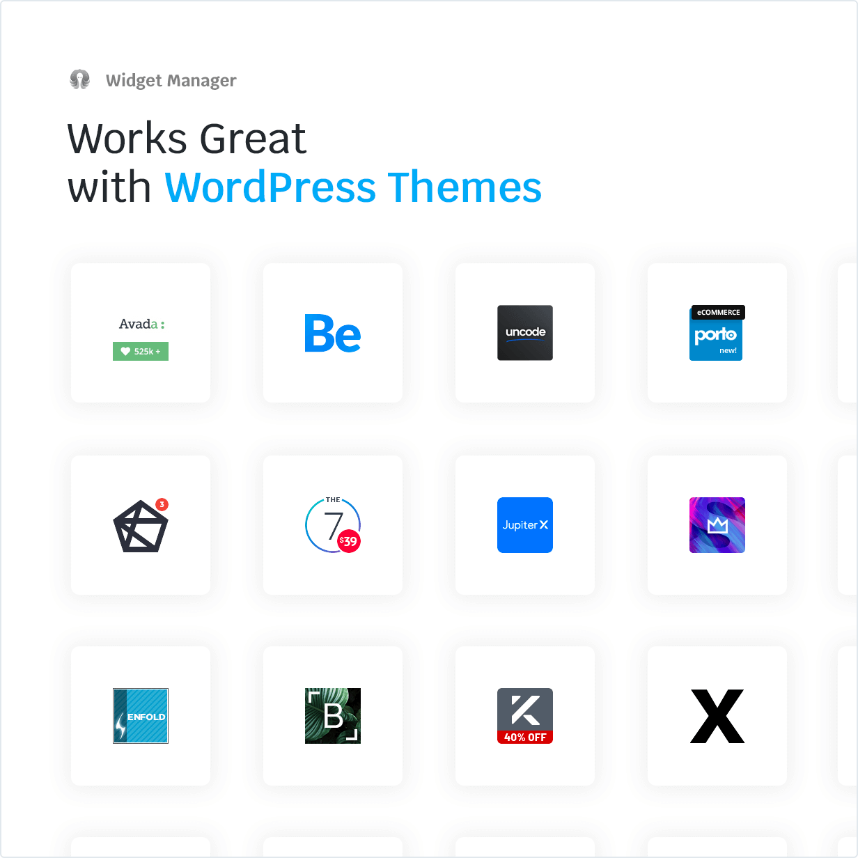 Works Great with WordPress Themes
