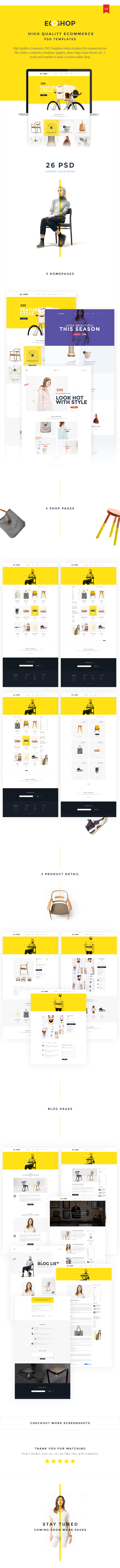 ECOSHOP - Multipurpose eCommerce PSD Template - 6