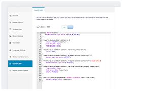 CSS customizado
