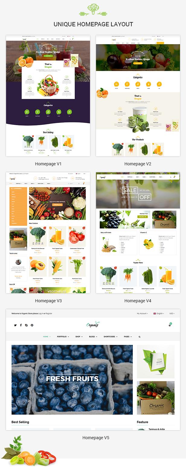 Organiz - An Organic Store WooCommerce Theme - 10