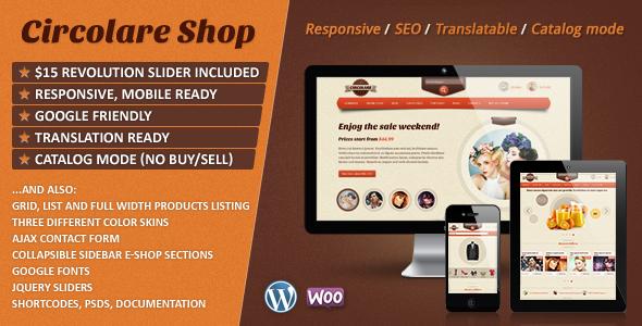 Bellissima Responsive WooCommerce Wordpress Theme