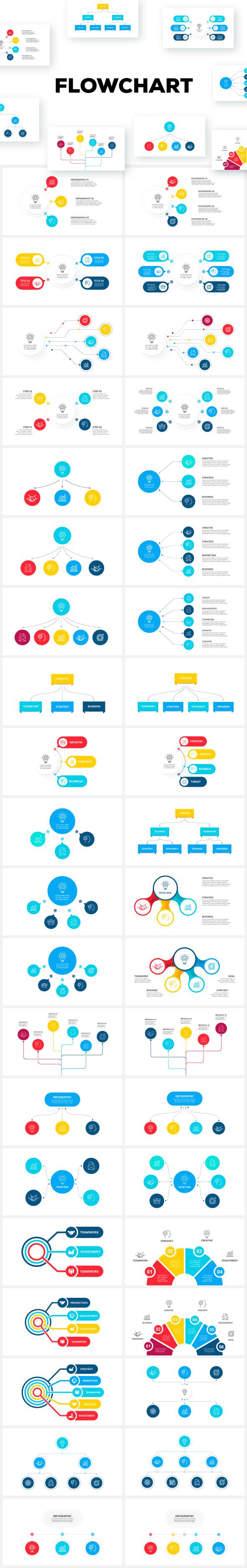 Multipurpose Infographics PowerPoint Templates v.5.0 - 163