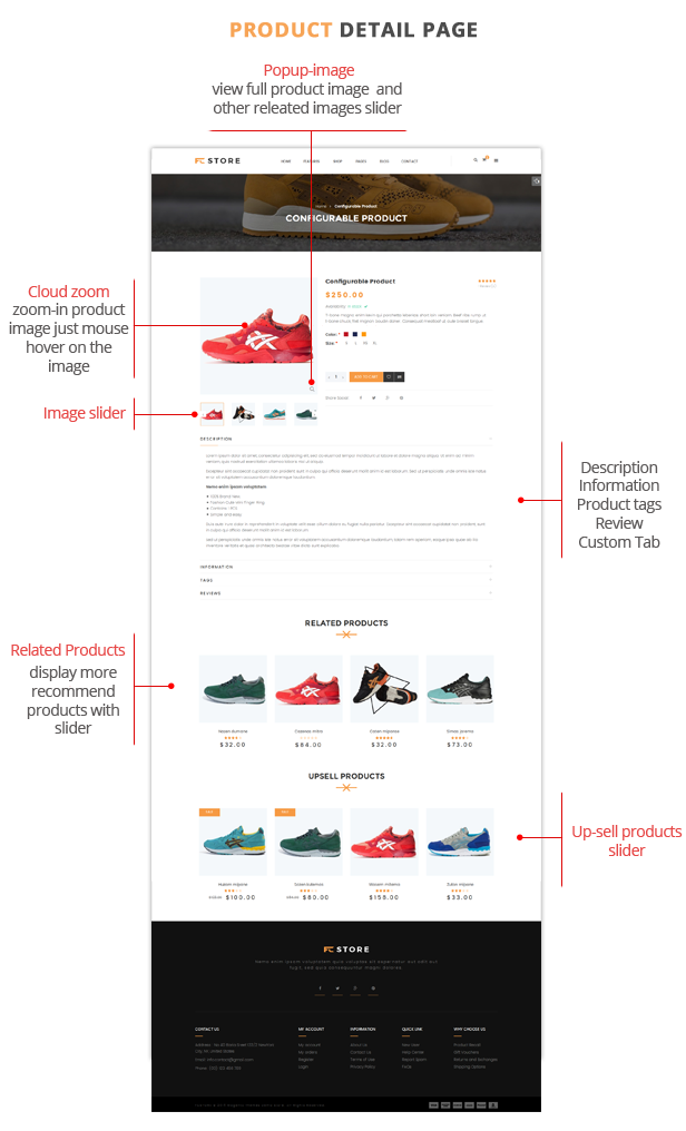 FCstore- Product Page