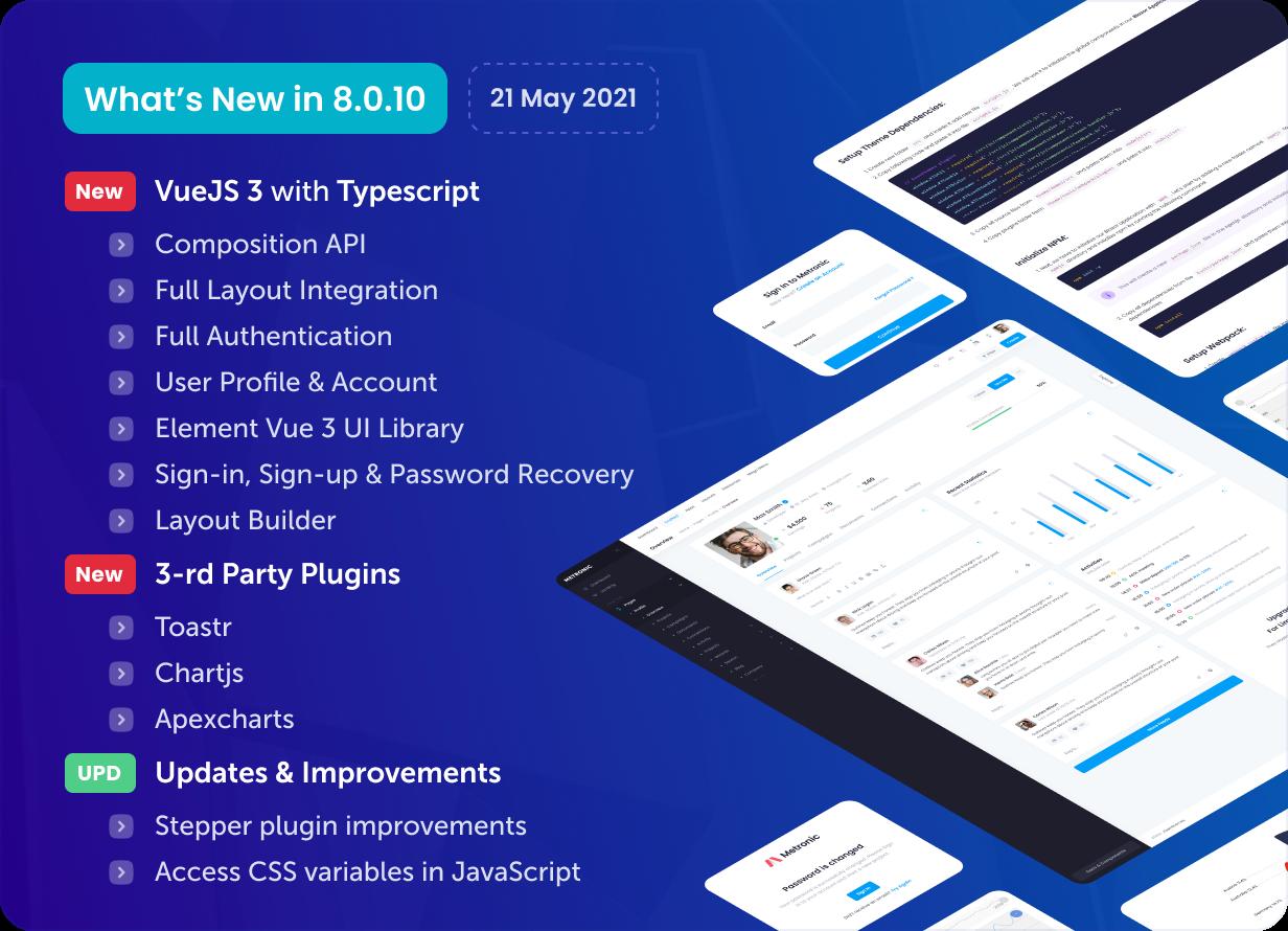 Metronic - Bootstrap 4/5 HTML, VueJS, React, Angular & Laravel Admin Dashboard Theme - 24