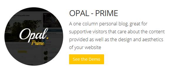 Bluthemes - Opal Prime