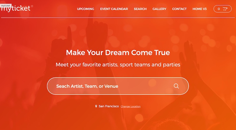 Ticket/Event Management System WordPress Theme