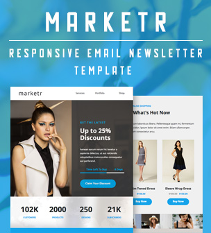 marketr email template