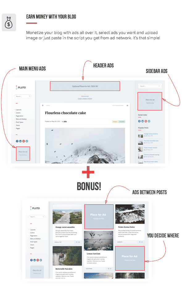 Pluto Clean Personal WordPress Masonry Blog Theme - 5