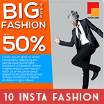Instagram Fashion Banner Bundle - 10