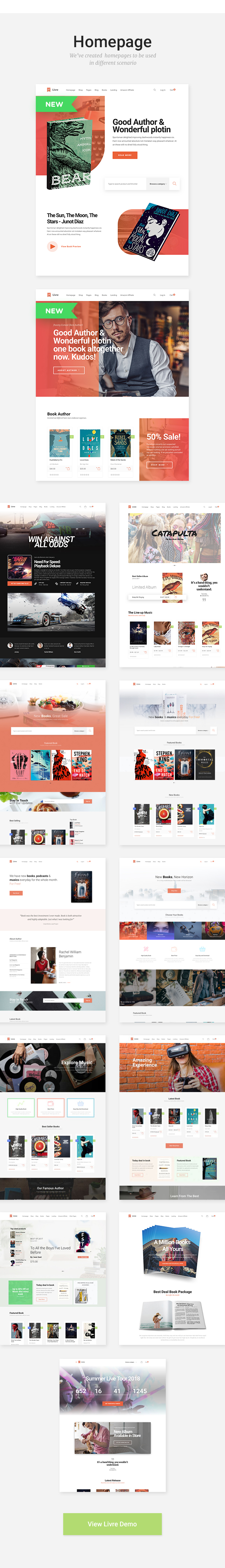 Livre - WooCommerce Theme For Book Store - 2