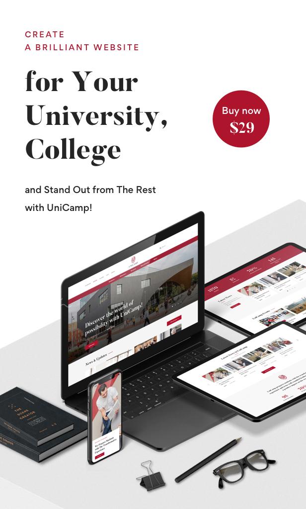 Unicamp - University and College WordPress Theme - 17