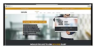 Genuine - Multi Purpose HTML5 Creative Template - 9