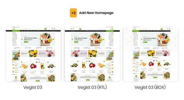 Vegist - The  Vegetables, Supermarket & Organic Food eCommerce Shopify Theme - 7
