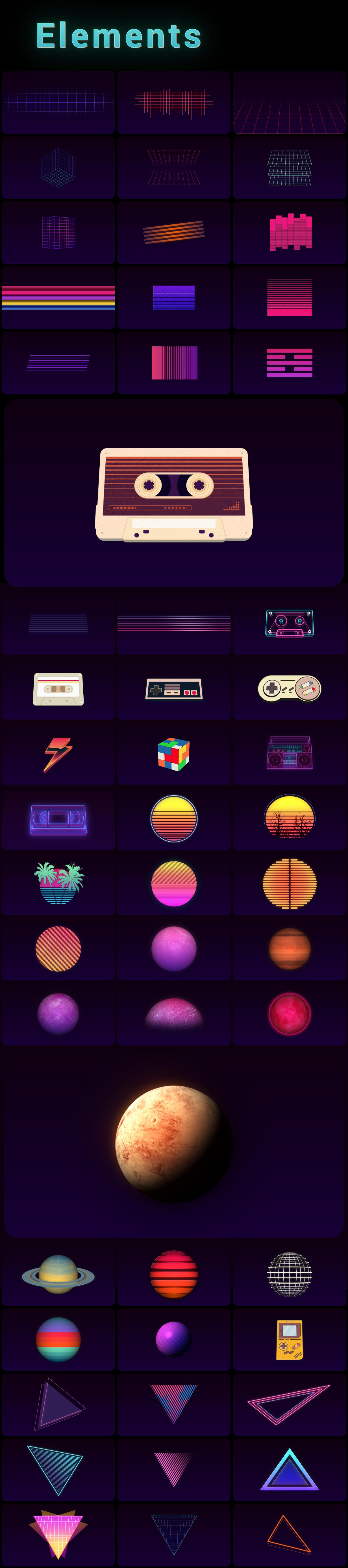 Retrowave Pack - 9