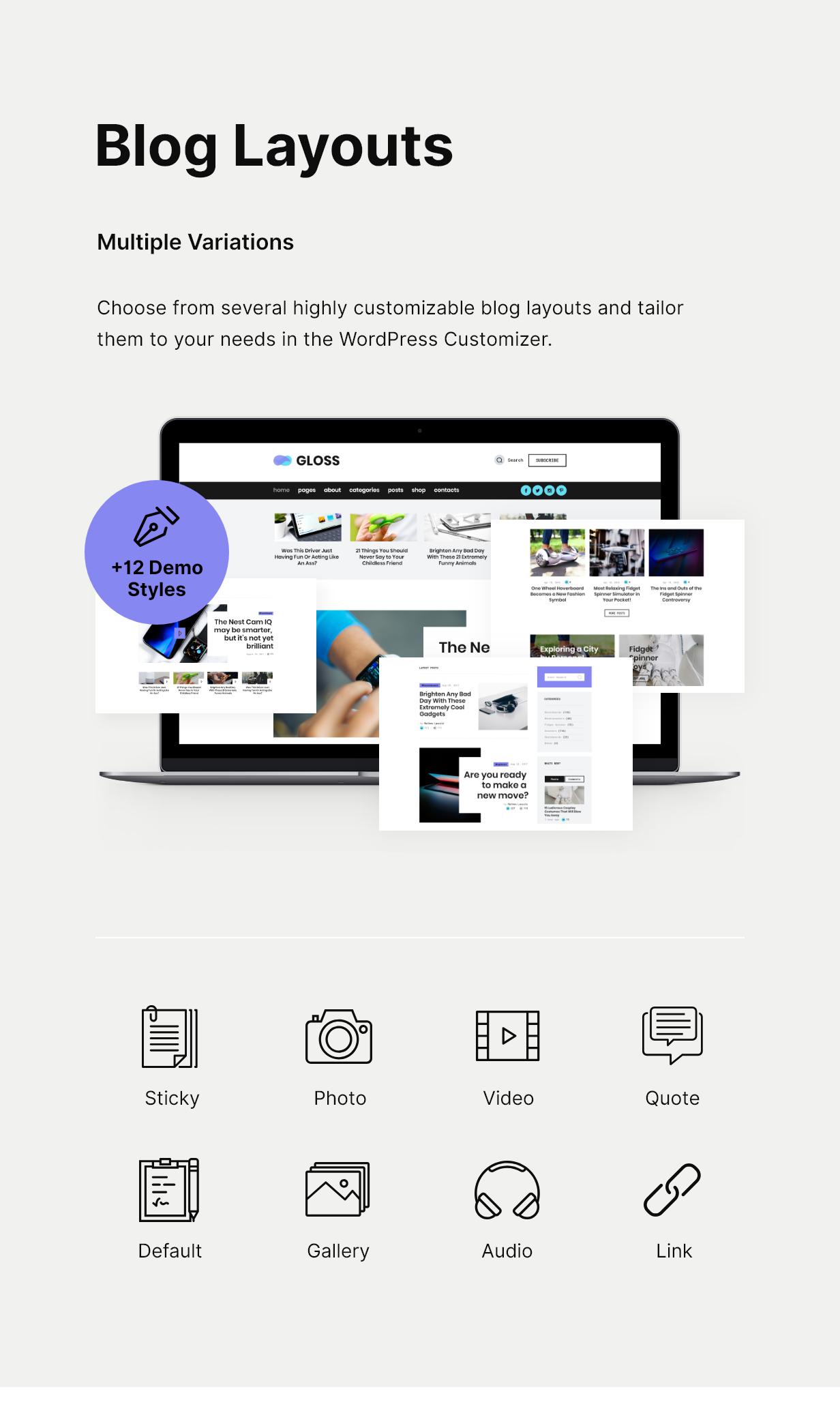 Gloss | Viral News Magazine WordPress Blog Theme - 6