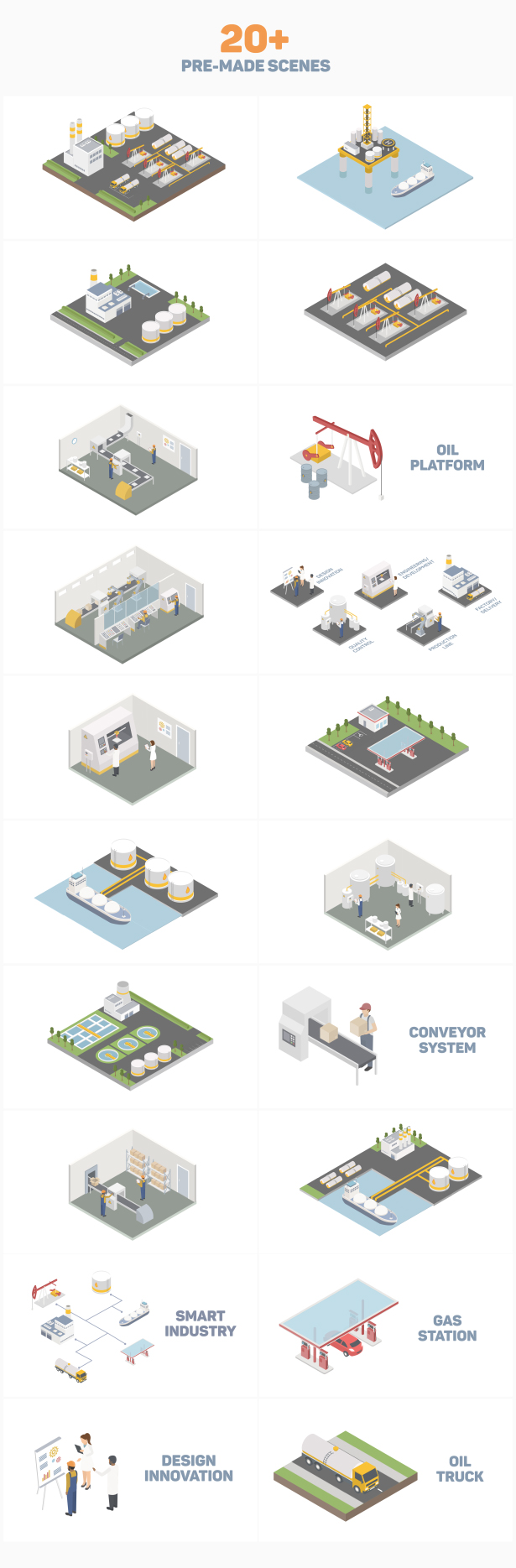 Isometric Industry - 3