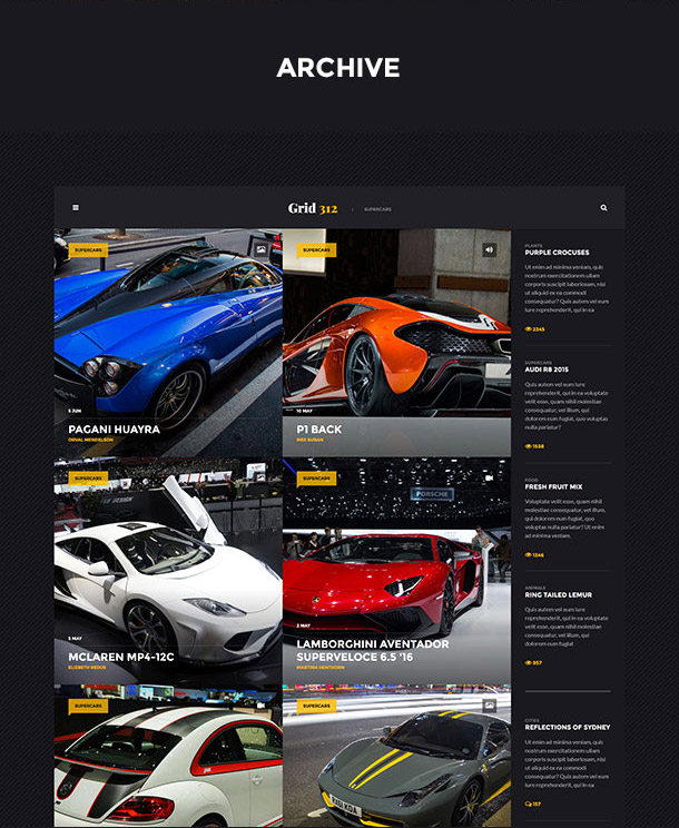 Grid312 - Archive Page