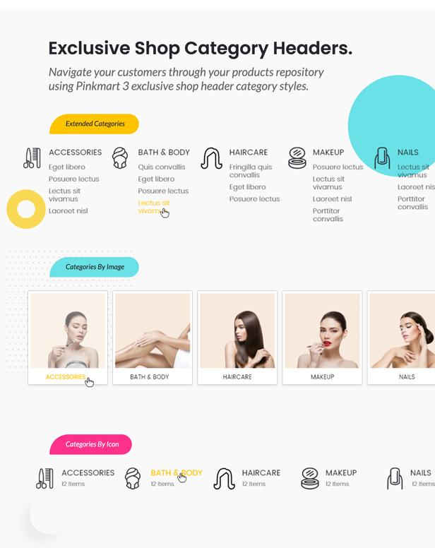 Pinkmart - WooCommerce WordPress Theme - shop header