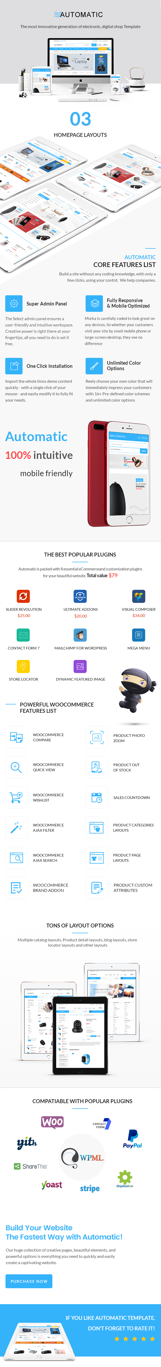 Automatic - WooCommerce Theme for Electronic, Computer, Digital Store - 4